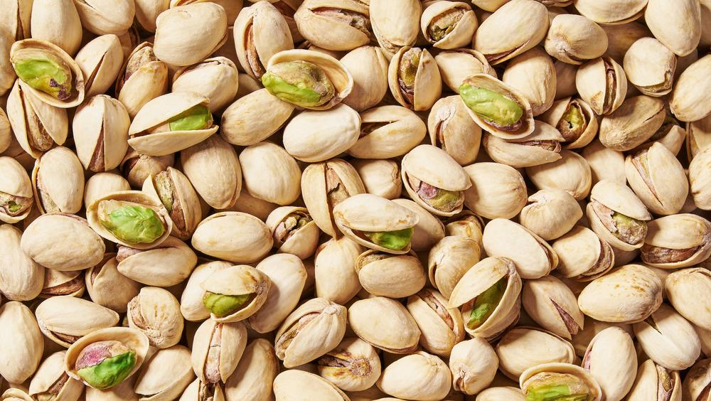 Lots of pistachios