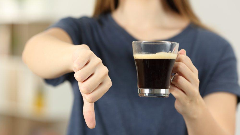 Hate coffee