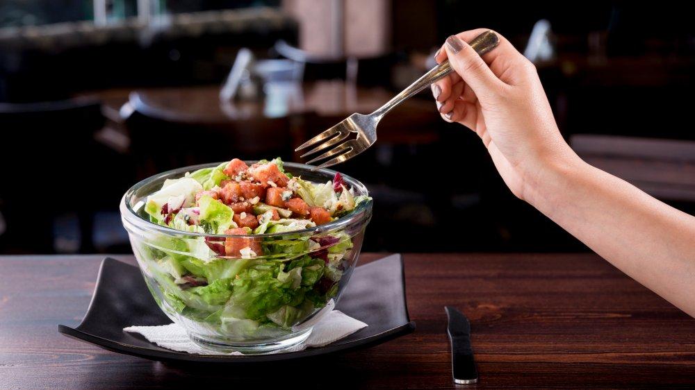 fancy lunch salad