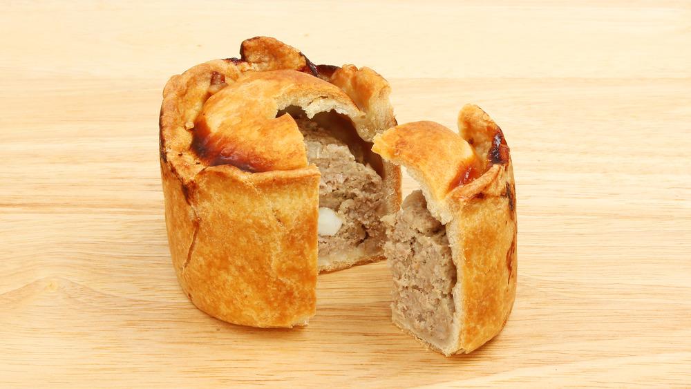 Hot water crust pork pie