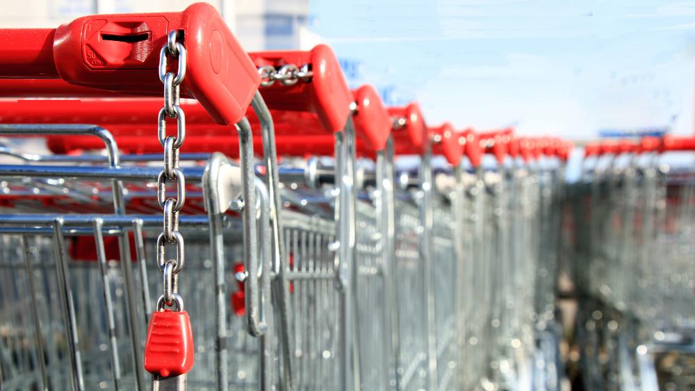 Aldi-style carts
