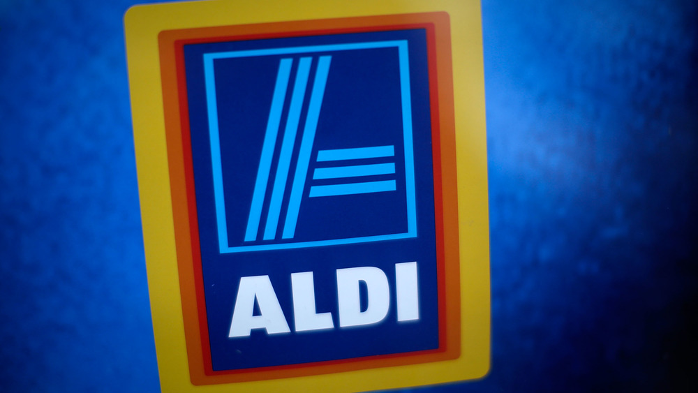 An Aldi store logo