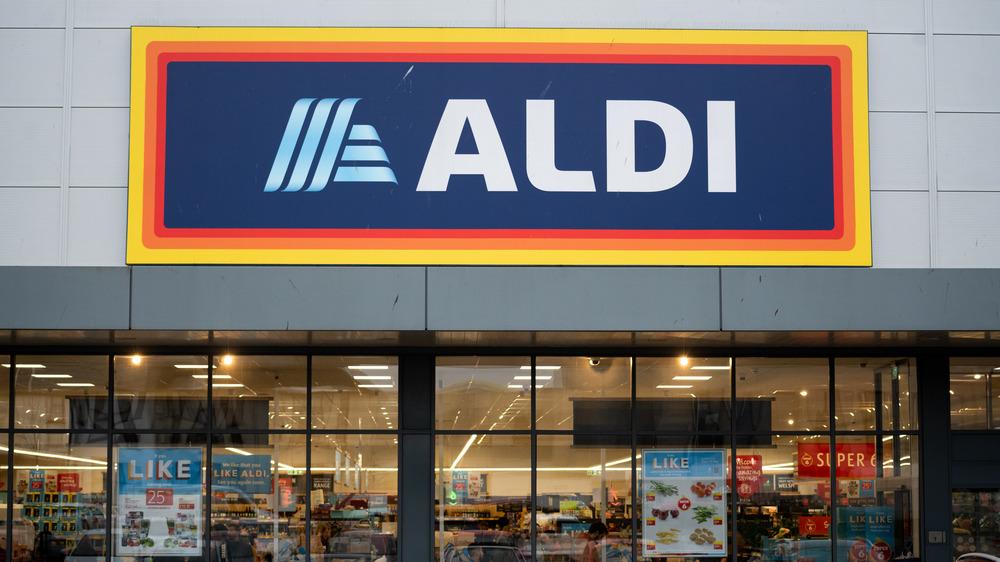 Aldi UK storefront