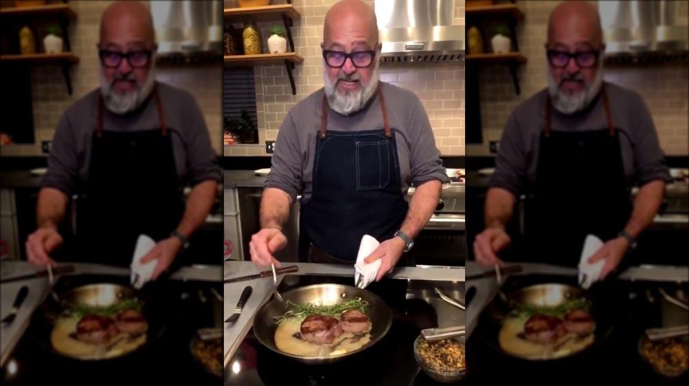 Andrew Zimmern cooking beef