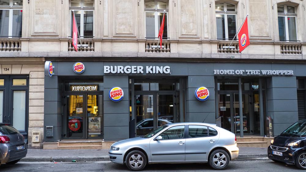 Burger King France location