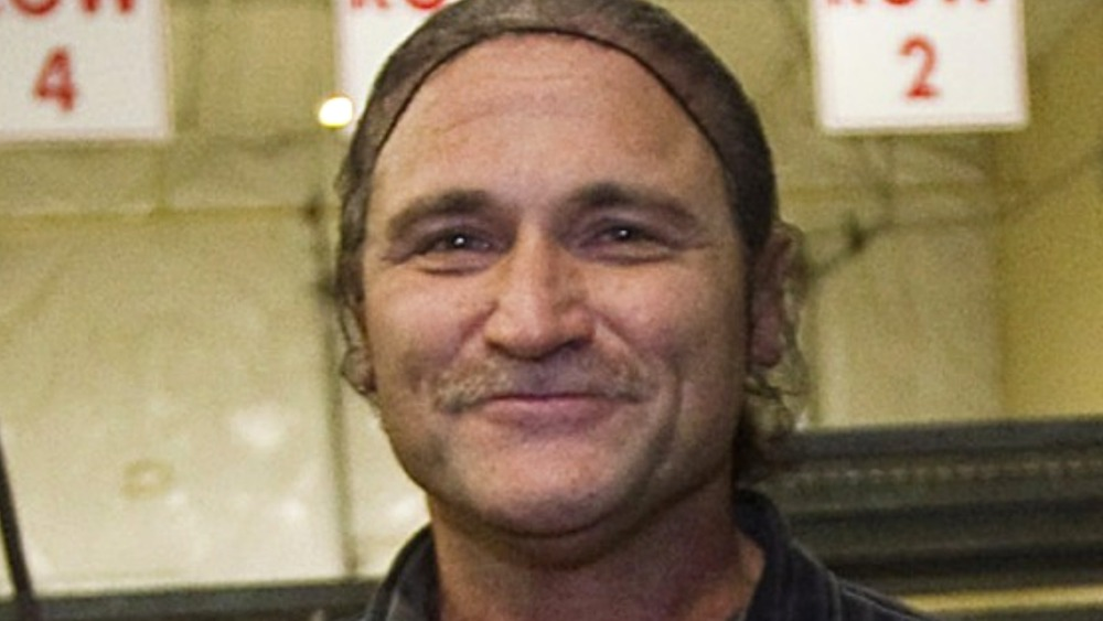 """Dave Dahl displays loaves of his """"killer"""" bread"""