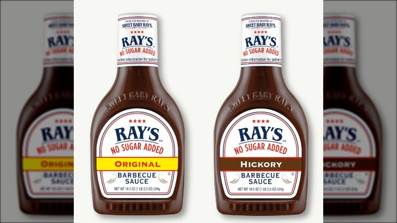 Sweet Baby Rays No Sugar Added BBQ Sauce