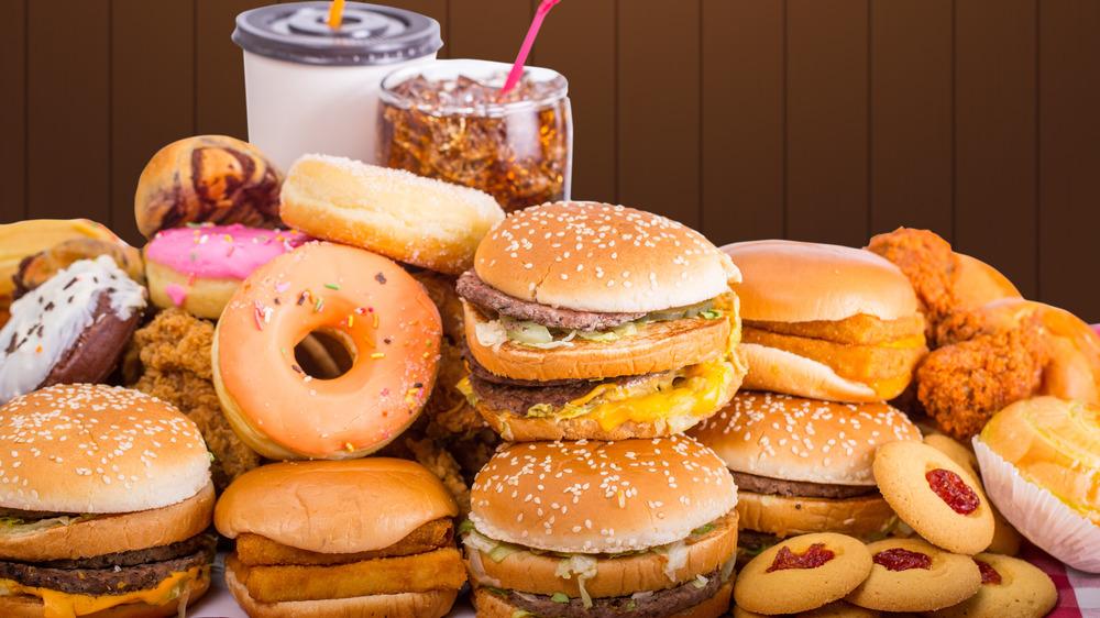 Fast Food photo shoot