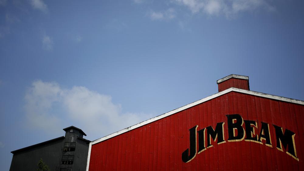 Jim Beam tasting room exterior in Kentucky