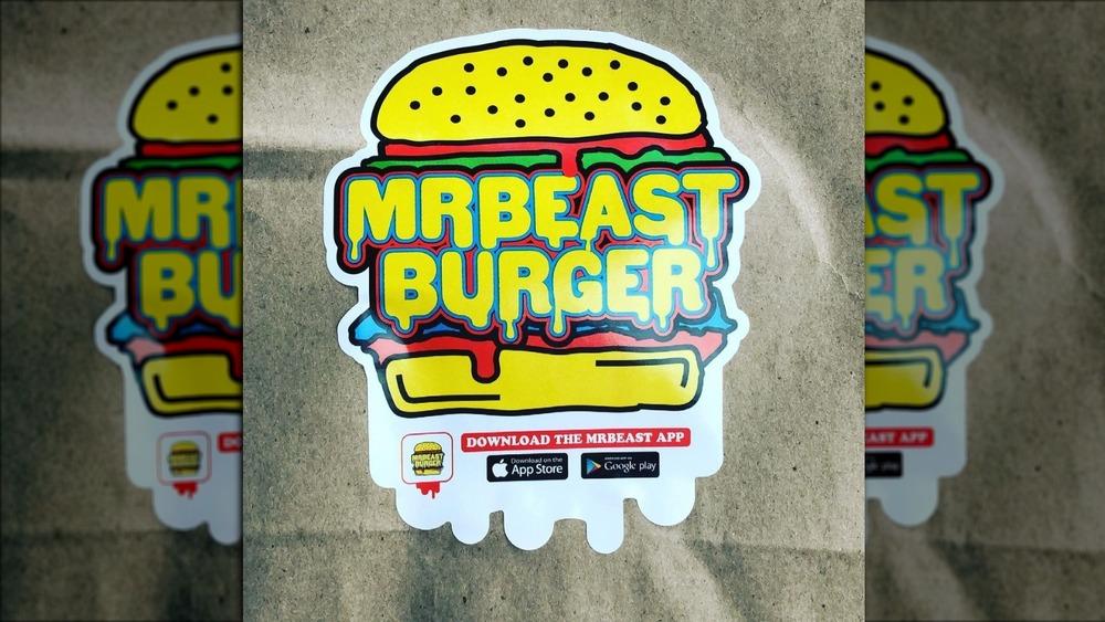 The MrBeast Burger logo