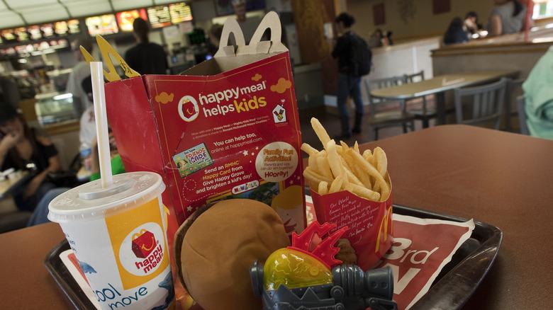 McDonalds Happy Meals