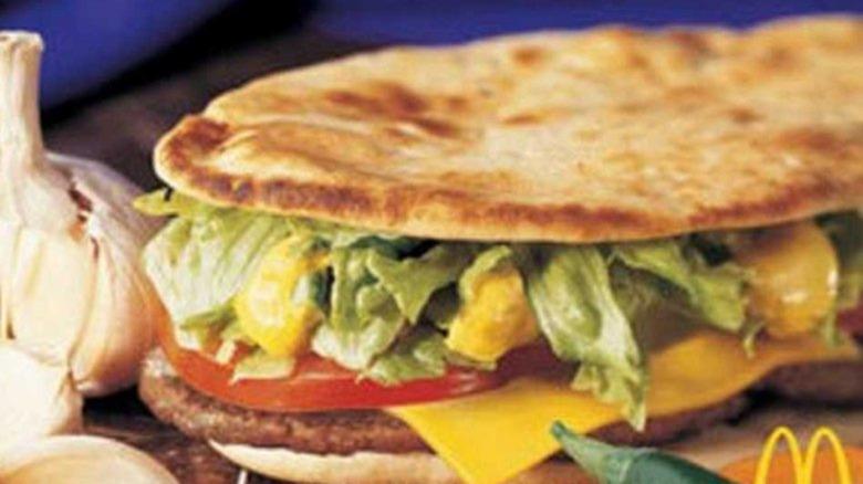 Controversial McDonald's McAfrika burger