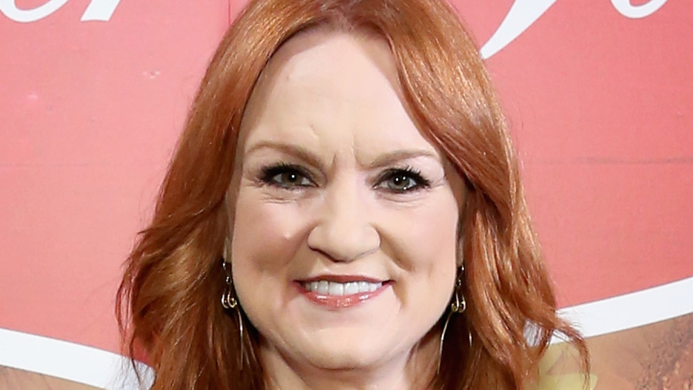 A close-up of Ree Drummond