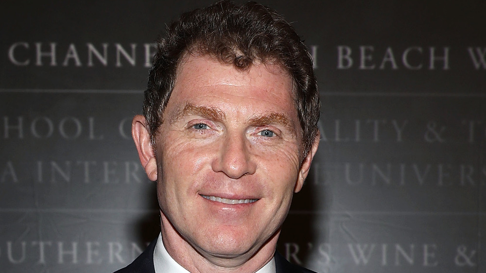 Bobby Flay grinning