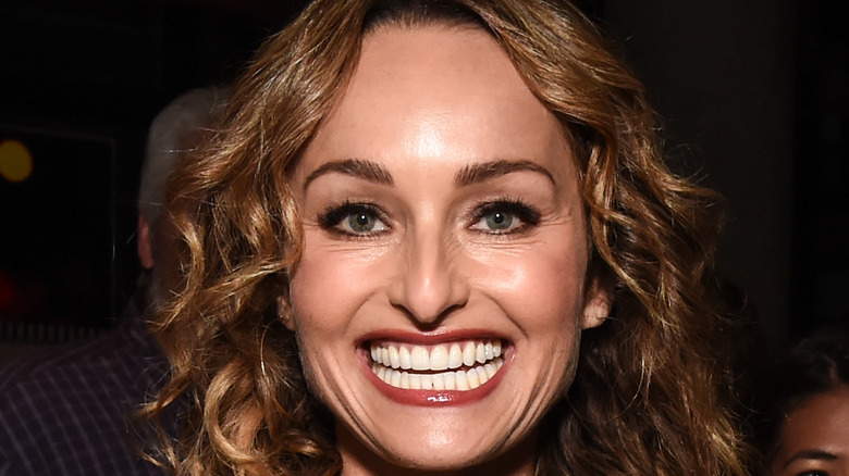Giada De Laurentiis grinning