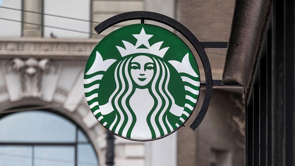 Starbucks store sign