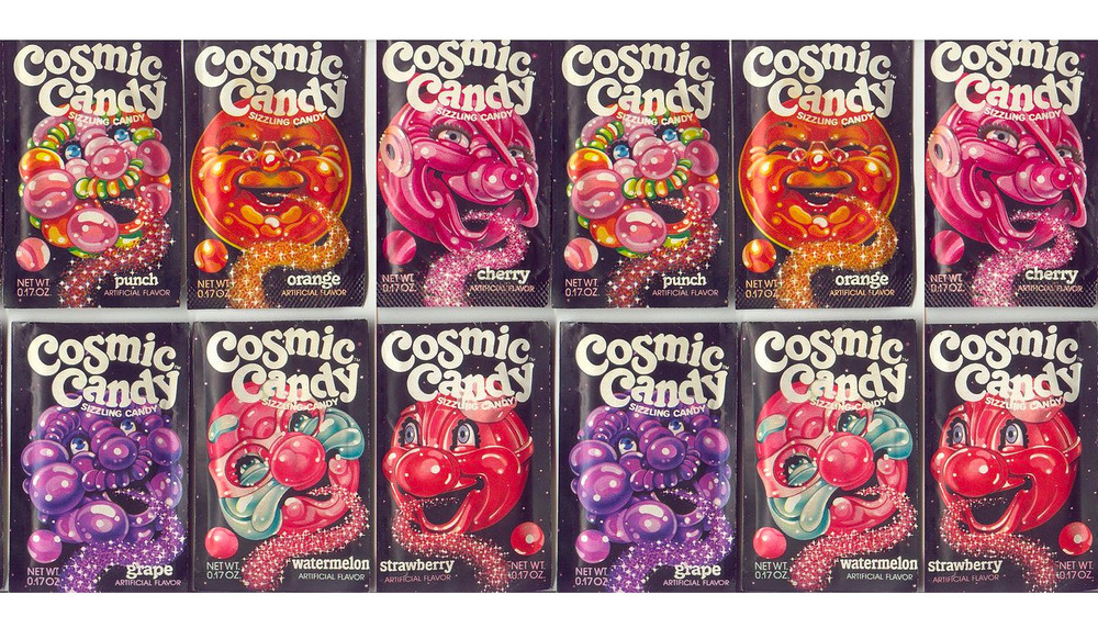 Cosmic Candy packaging