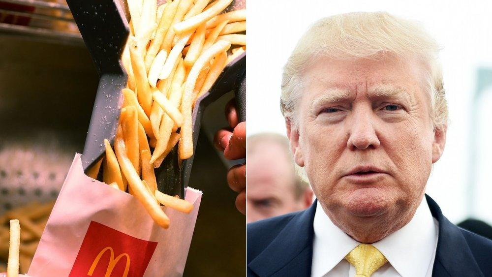 Donald Trump, McDonald's French Fries