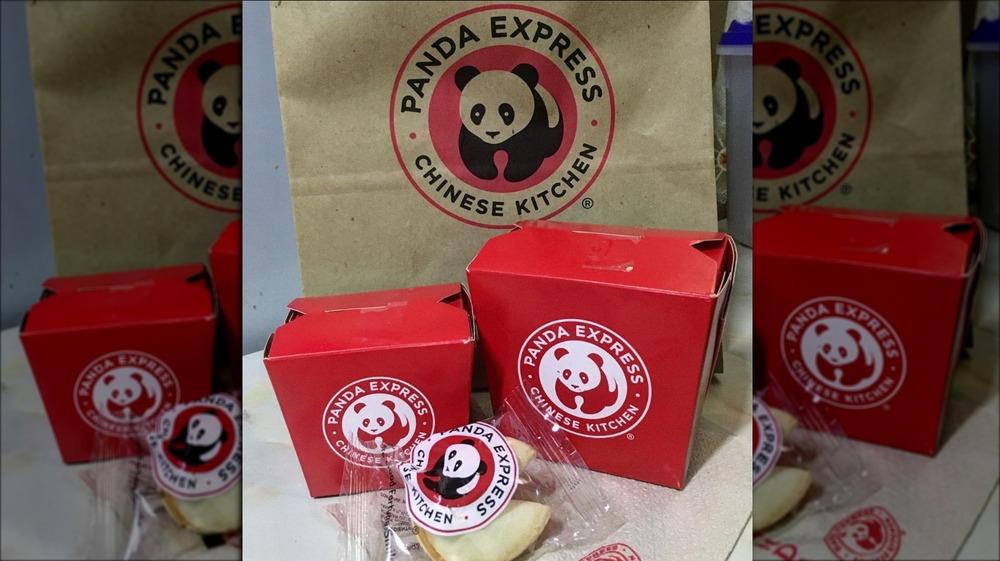 Food from Panda Express
