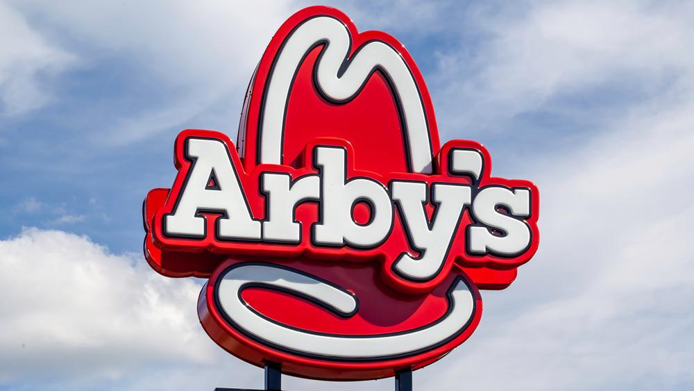 An Arby's sign