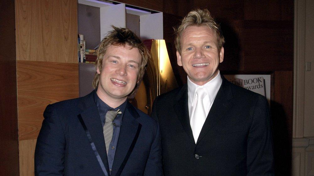 Gordon Ramsay and Jamie Oliver