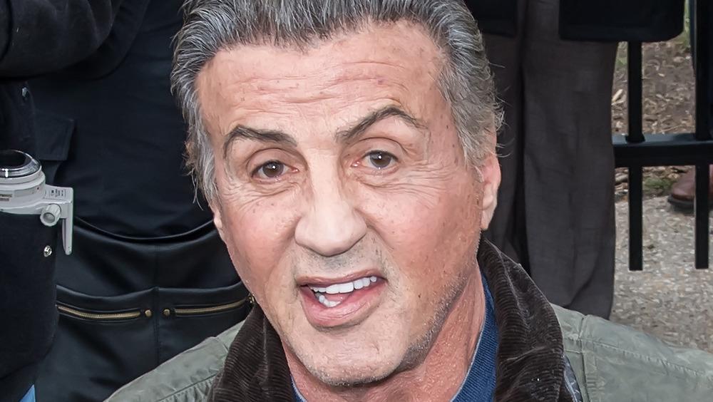 Sylvester Stallone eyebrow raise