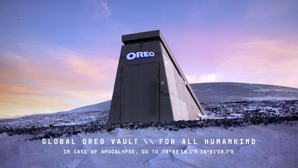 The Oreo Vault, so that life in the future can replicate the treat