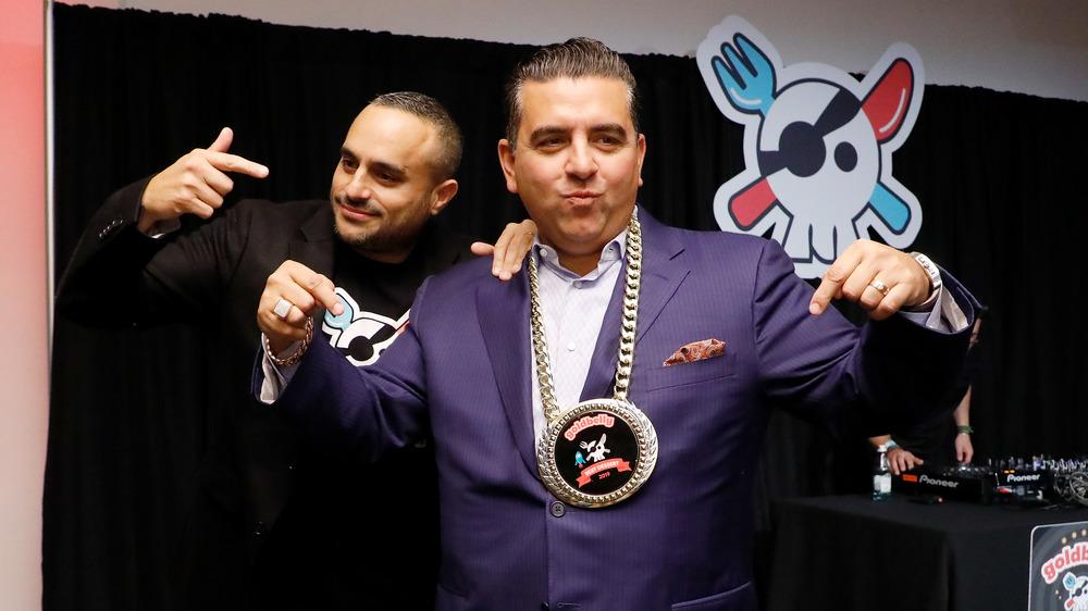 Buddy Valastro with Joe Ariel