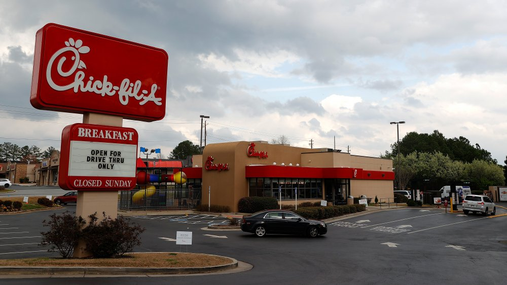 Chick-fil-A restaurant exterior