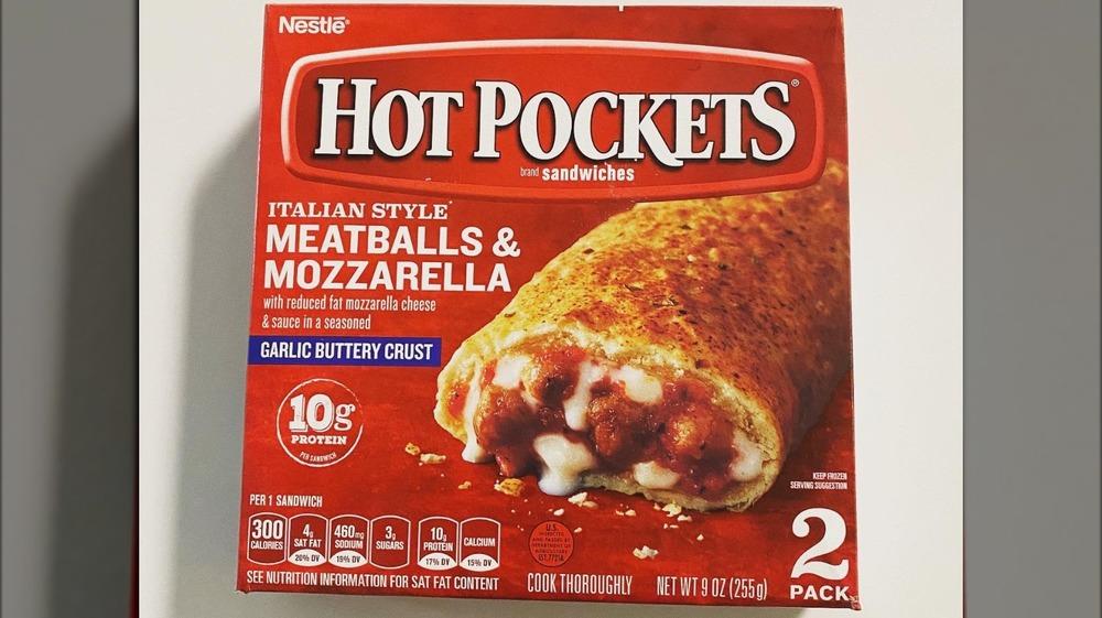 frozen meatball mozzarella Hot Pockets
