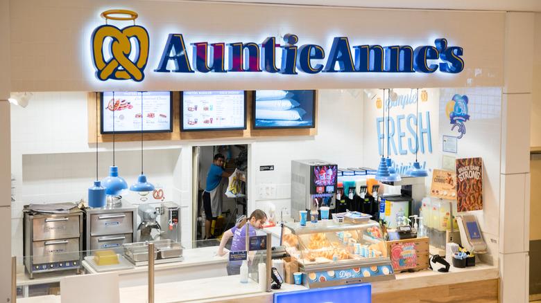 Auntie Anne's store