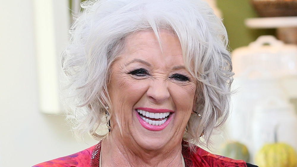 Paula Deen wide smile