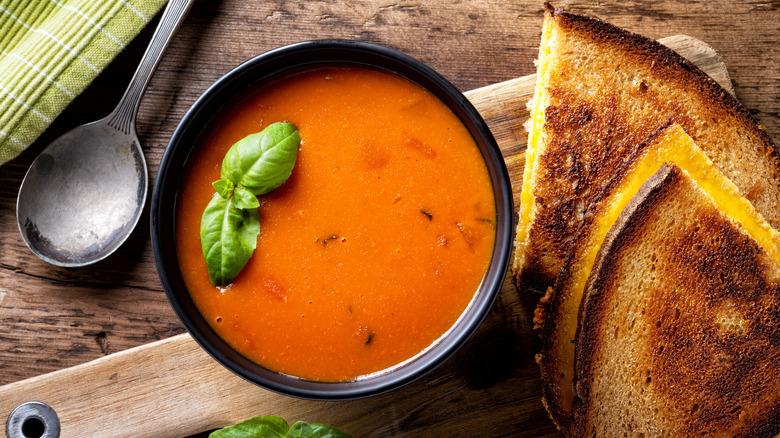 Secret ingredient for tomato soup