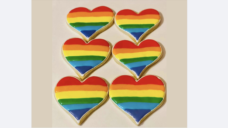 Rainbow Cookies from Confections Bakery