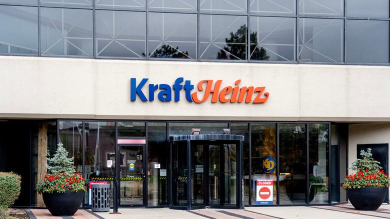 Entrance to Kraft Heinz headquarters