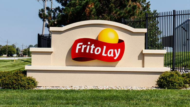 Frito Lay sign