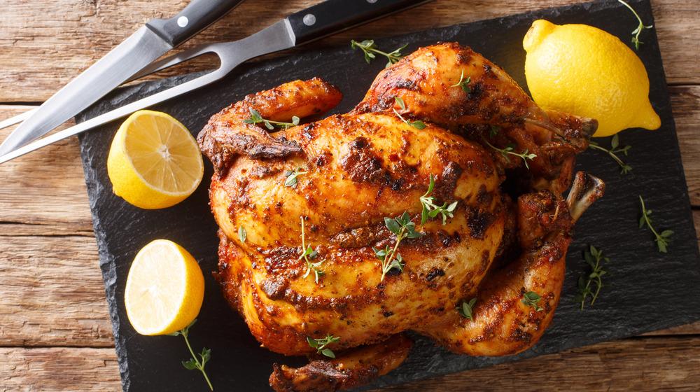 Gorgeous roast chicken