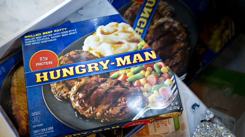 Hungry Man frozen meal