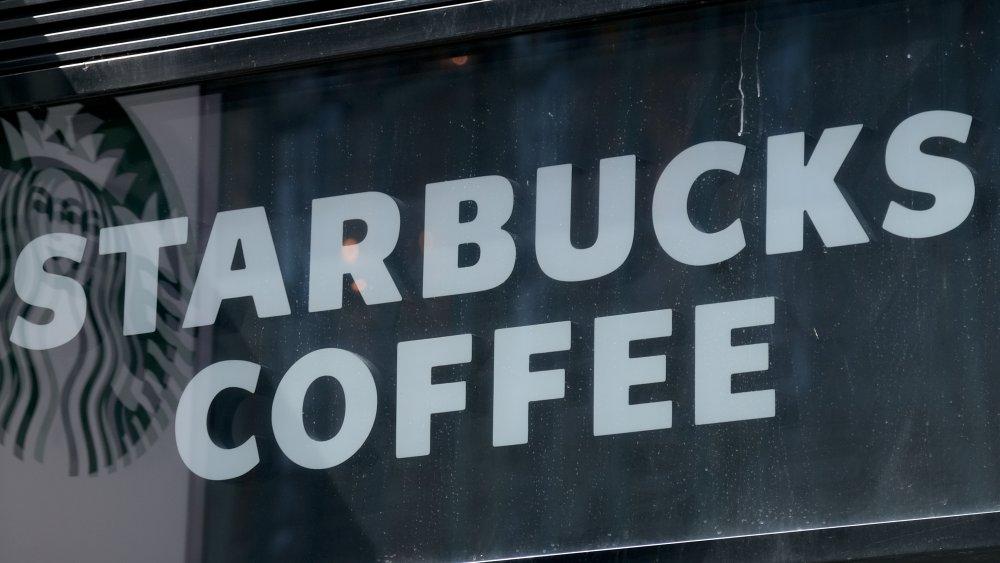 Starbucks sign