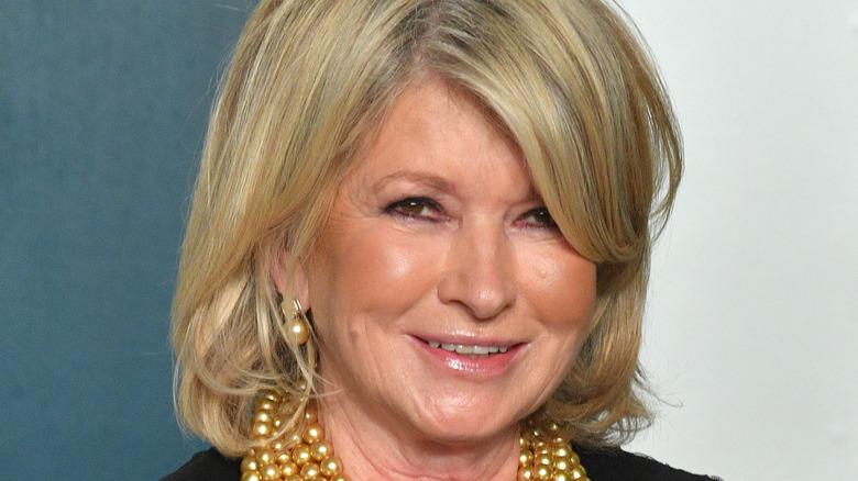 Head shot of Martha Stewart smiling