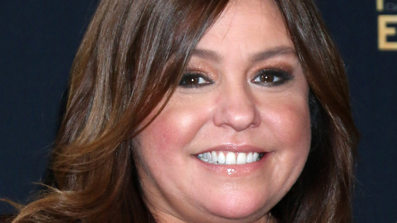 Close up of Rachael Ray smiling