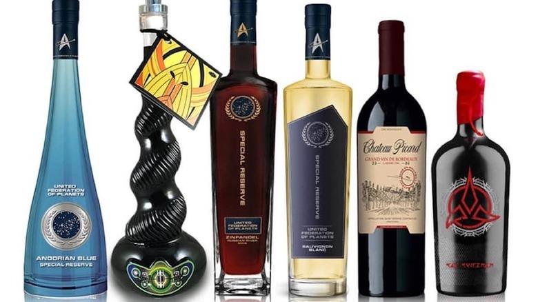 Collection of Star Trek wines