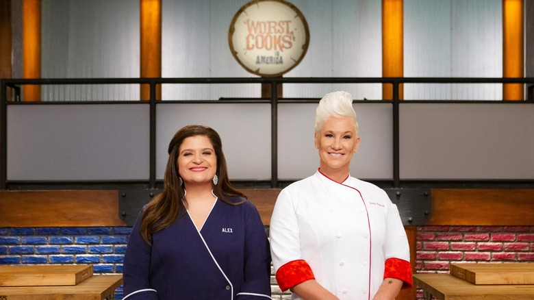 Anne Burrell and Alex Guarnaschelli on Worst Cooks in America