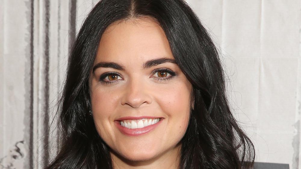 Katie Lee Biegel in black eyeliner