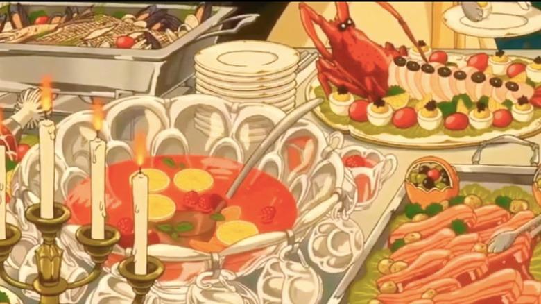 A screenshot from a Studio Ghibli film