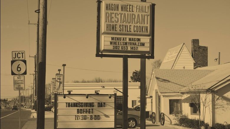 Wagon Wheel restaurant in Smyrna, Delaware