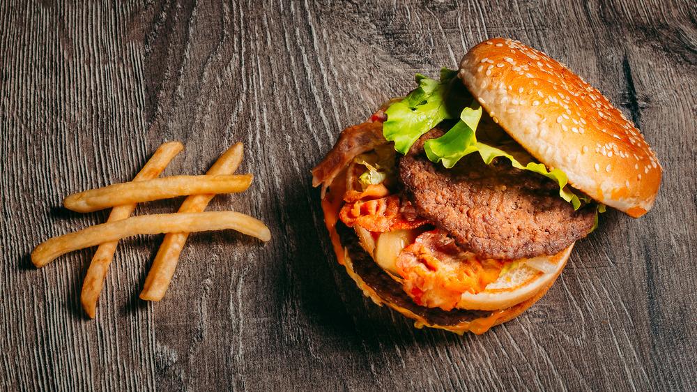 collapsing Big Mac hashtag fries
