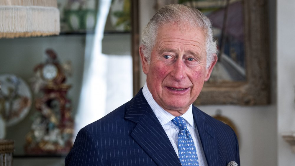 Prince Charles, heir to the throne