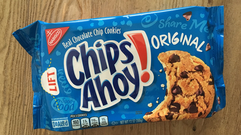 package of Chips Ahoy! cookies