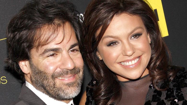 Rachael Ray and John Cusimano smiling